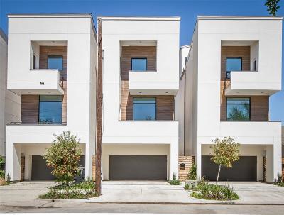 Houston Single Family Home For Sale: 1503 Truxillo Street #A