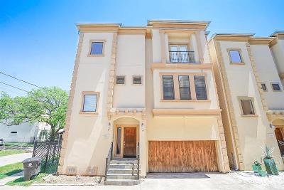 Houston Single Family Home For Sale: 5701 Kiam Street #A