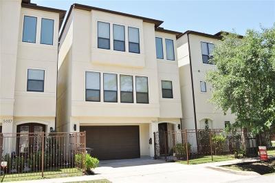 Houston Single Family Home For Sale: 5021 Inker Street