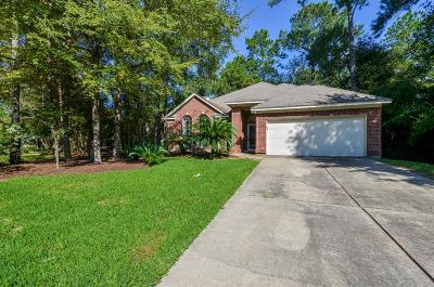 The Woodlands Single Family Home For Sale: 143 S Winterport Circle