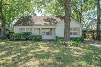 Houston Single Family Home For Sale: 1533 Althea