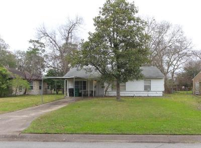 Houston Single Family Home For Sale: 7310 Raton Street
