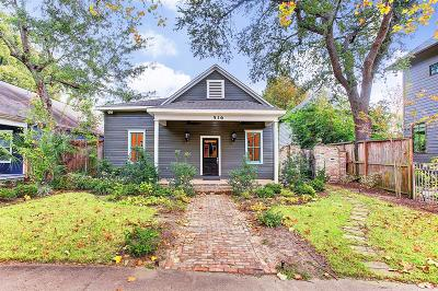 Houston Single Family Home For Sale: 516 Columbia Street