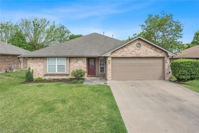 Madison County, Brazos County Single Family Home Option Pending: 1515 Jasmine Court