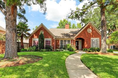 Houston Single Family Home For Sale: 15407 Greenleaf Lane