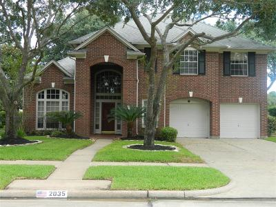 Katy Single Family Home For Sale: 2035 Crystal Downs Drive