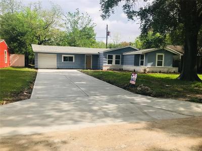 Houston Single Family Home For Sale: 6011 Willow Glen Drive