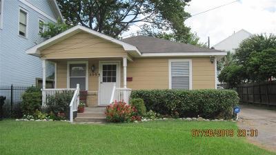 Houston Single Family Home For Sale: 609 E 19th Street