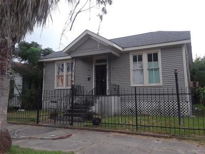 Galveston Single Family Home For Sale: 4021 Avenue N