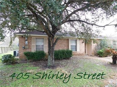 Eagle Lake Single Family Home For Sale: 405 Shirley