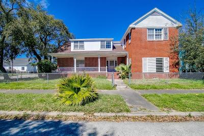 Galveston Single Family Home For Sale: 3228 Avenue L