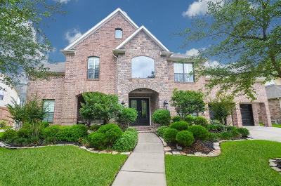 Katy TX Single Family Home For Sale: $595,000
