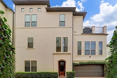 Houston Single Family Home For Sale: 1314 Sabine Street