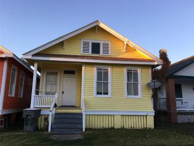 Galveston Rental For Rent: 3824 Avenue M 1/2