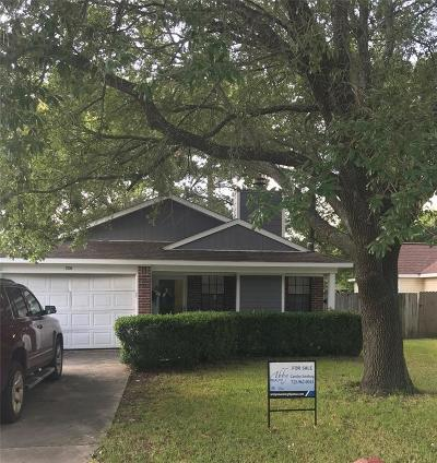 Tomball Single Family Home For Sale: 407 McPhail Street