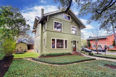 Houston Single Family Home For Sale: 3702 Mount Vernon