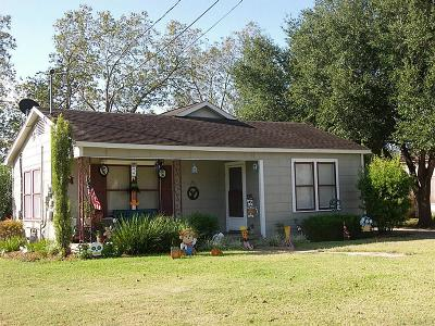 Weimar Single Family Home For Sale: 102 East Street