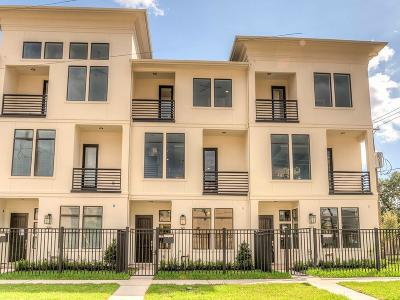 Houston TX Condo/Townhouse For Sale: $609,000