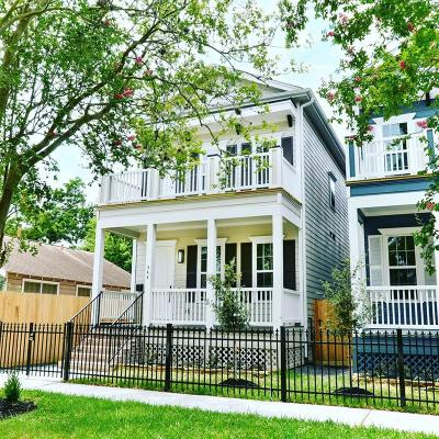 Houston Single Family Home For Sale: 344 W 27th Street