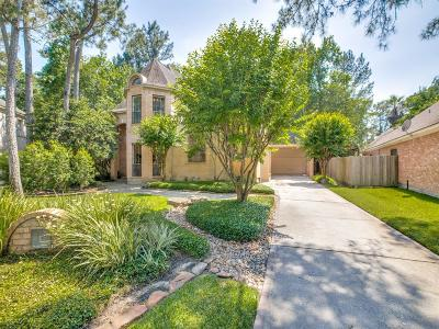The Woodlands Single Family Home For Sale: 14 Hidden Pond Place