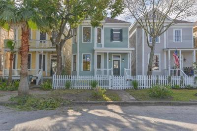 Galveston Single Family Home For Sale: 2521 Avenue M