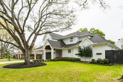Houston Single Family Home For Sale: 2027 De Milo Drive
