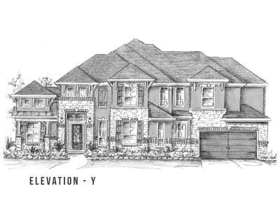 Single Family Home For Sale: 5703 Crockett Creek