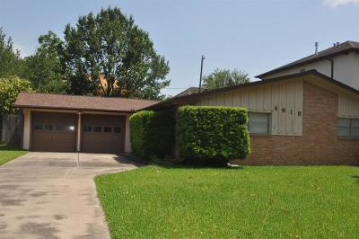 Bellaire Single Family Home For Sale: 4618 Verone Street