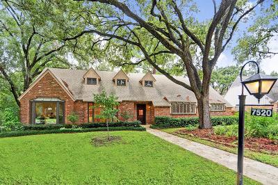 Houston Single Family Home For Sale: 7520 Creekwood Drive