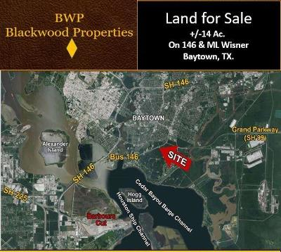 Baytown Residential Lots & Land For Sale: S Highway 146 Street