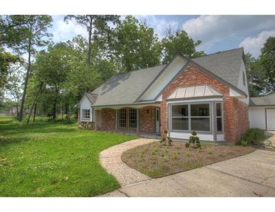 Conroe Single Family Home Pending: 543 Roanoke Drive