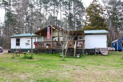 San Jacinto County Single Family Home For Sale: 180 The Woods Road