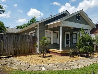 Houston Single Family Home For Sale: 507 Vincent Street