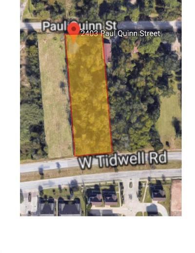 Residential Lots & Land For Sale: 2403 Paul Quinn Street