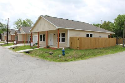Single Family Home For Sale: 3102 Lelia Street