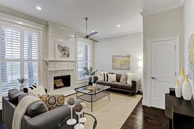Houston Condo/Townhouse For Sale: 4518 Dickson Street