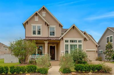 The Woodlands Single Family Home For Sale: 210 Rockwell Park Boulevard