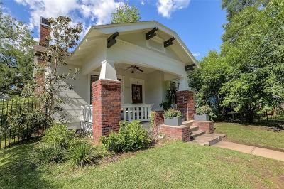 Houston Single Family Home For Sale: 951 Woodland Street