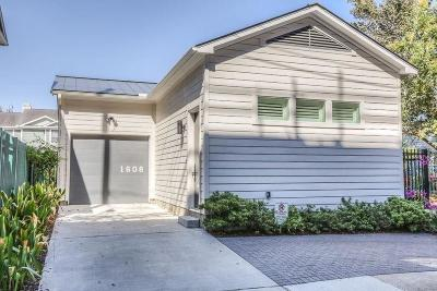 Houston Single Family Home For Sale: 1608 Victor Street