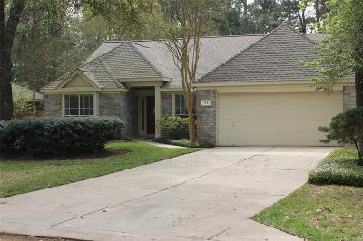 The Woodlands Single Family Home For Sale: 63 E Trillium Circle