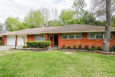Houston Single Family Home For Sale: 3202 Hollister Street
