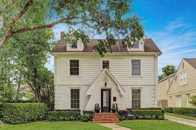 Houston Single Family Home For Sale: 3124 Tangley Road