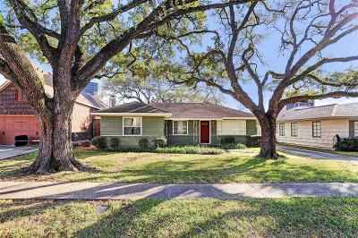 Houston Single Family Home For Sale: 4019 Markham Street