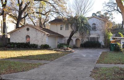 Harris County Single Family Home For Sale: 7018 Wagonwheel Lane