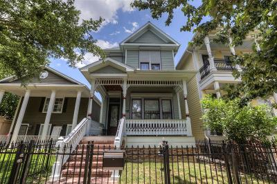 Houston Single Family Home For Sale: 615 E 8th 1/2 Street