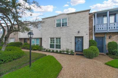 Houston Condo/Townhouse For Sale: 6356 Briar Rose Drive #182