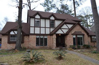 Kingwood Single Family Home For Sale: 3107 Little Bear Drive