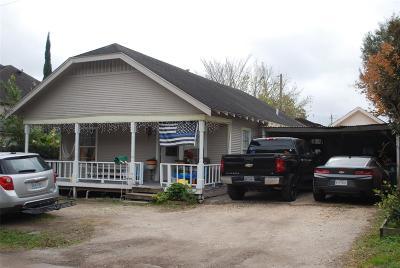 Harris County Single Family Home For Sale: 5229 Eigel Street