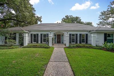 Houston TX Single Family Home For Sale: $850,000