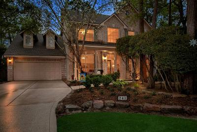 The Woodlands Single Family Home For Sale: 243 S Maple Glade Circle